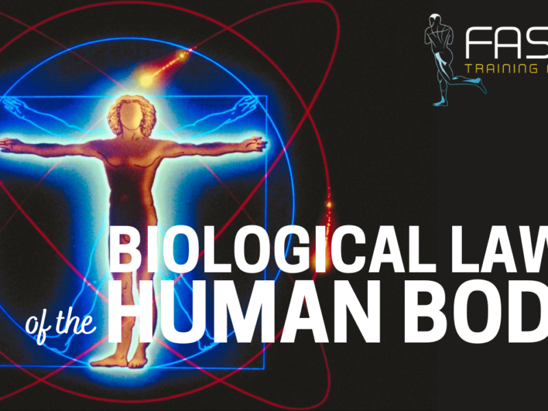 Biological Laws of the Human Body