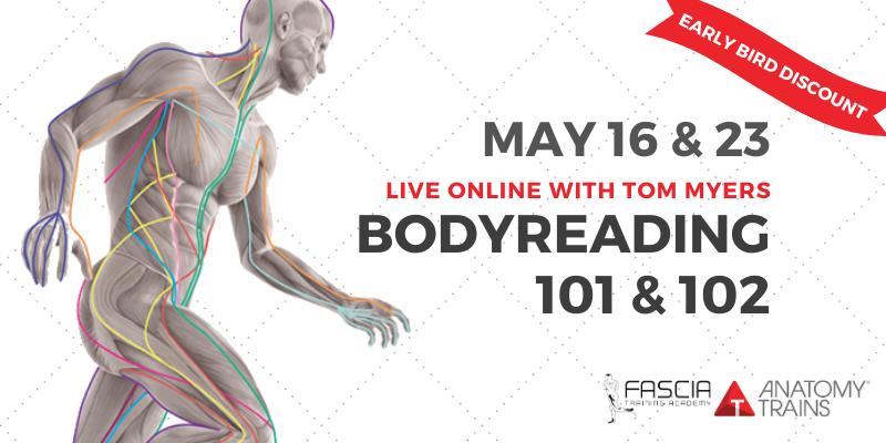 BodyReading 101 + 102 Live Online w/ Tom Myers 3