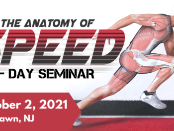 Anatomy of Speed 1-Day Seminar Coming to NJ!